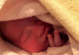 Fridas Geburt